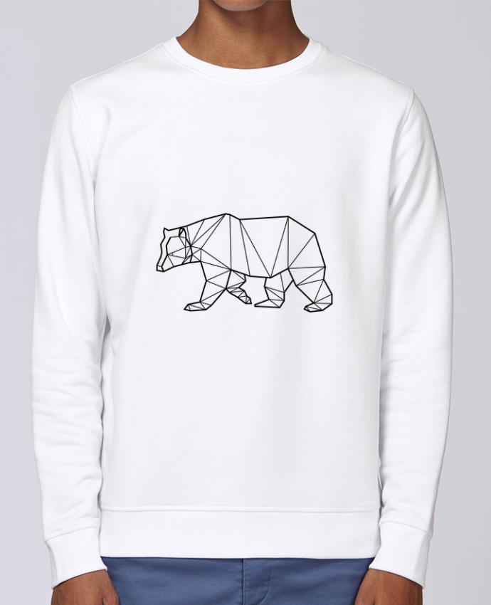 Sweat Col rond Unisex Stanley Stella Rise Bear Animal Prism par Yorkmout