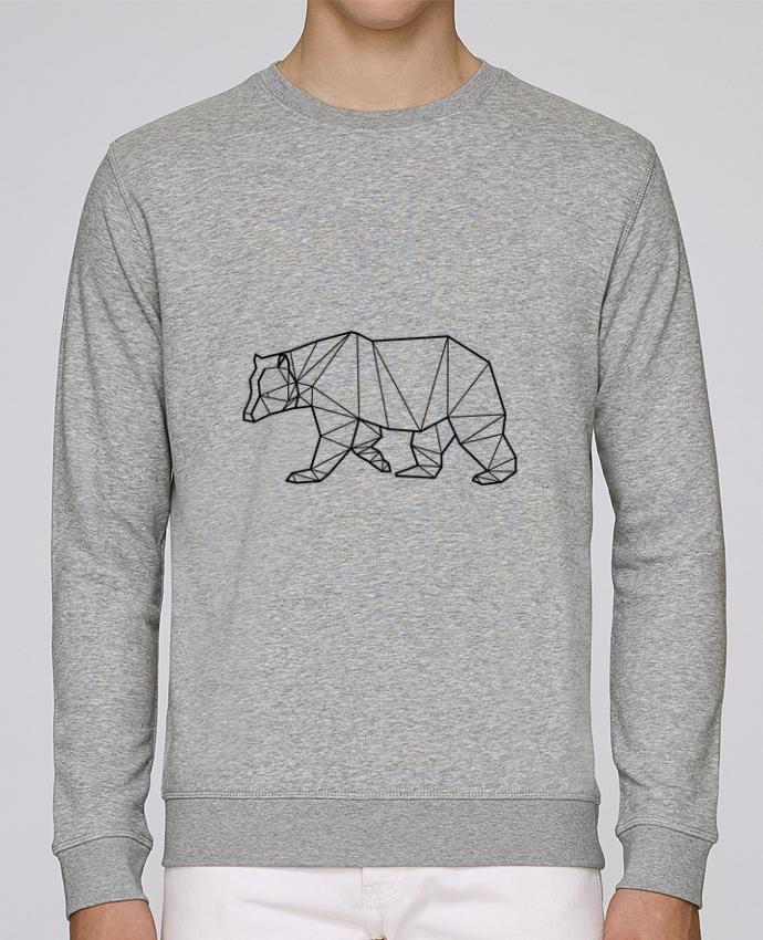 Sweat Col rond Unisexe Stanley Stella Rise Bear Animal Prism par Yorkmout