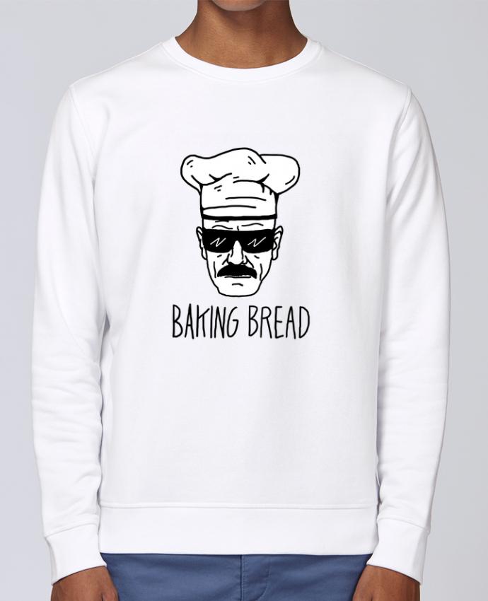 Sweat Col rond Unisex Stanley Stella Rise Baking bread par Nick cocozza