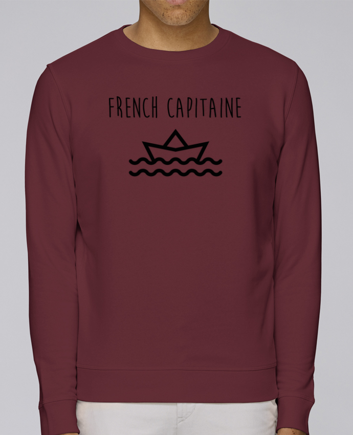 Sweat Col rond Unisex Stanley Stella Rise French capitaine par Ruuud