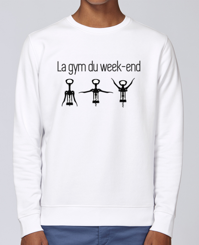 Sweat Col rond Unisex Stanley Stella Rise La gym du week-end par Benichan