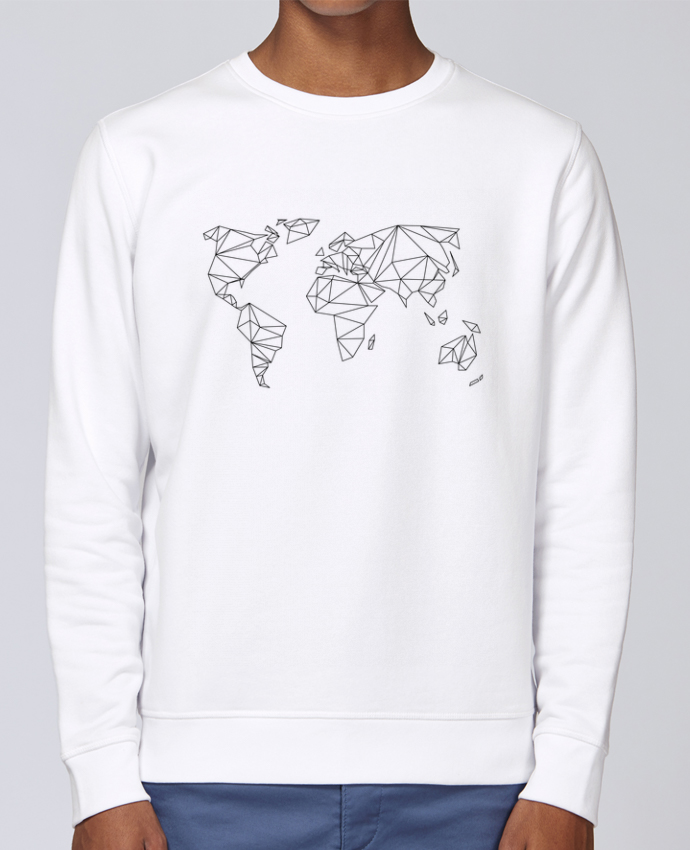 Sweat Col rond Unisex Stanley Stella Rise Geometrical World par na.hili