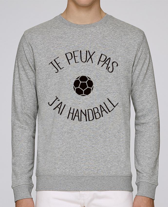 Sweat Col rond Unisex Stanley Stella Rise Je peux pas j'ai Handball par Freeyourshirt.com