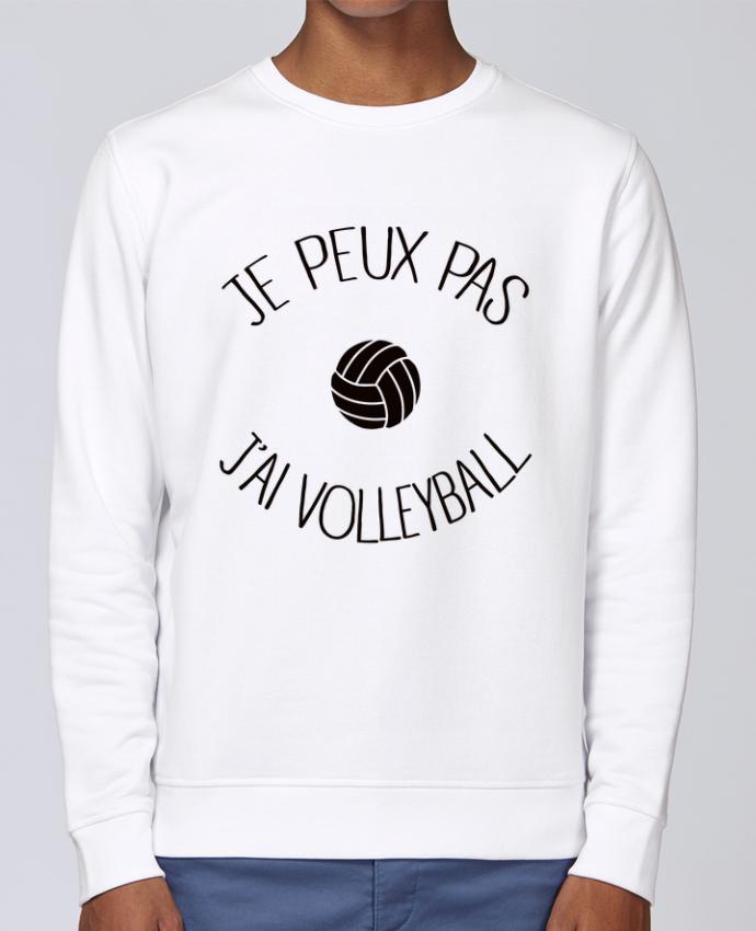 Sweat Col rond Unisex Stanley Stella Rise Je peux pas j'ai volleyball par Freeyourshirt.com