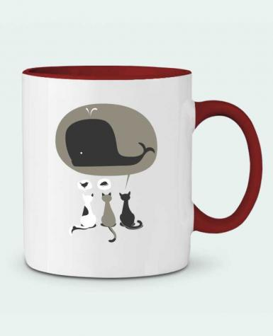 Mug en Céramique Bicolore Dream Big flyingmouse365