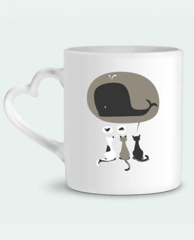 Mug Coeur Dream Big par flyingmouse365