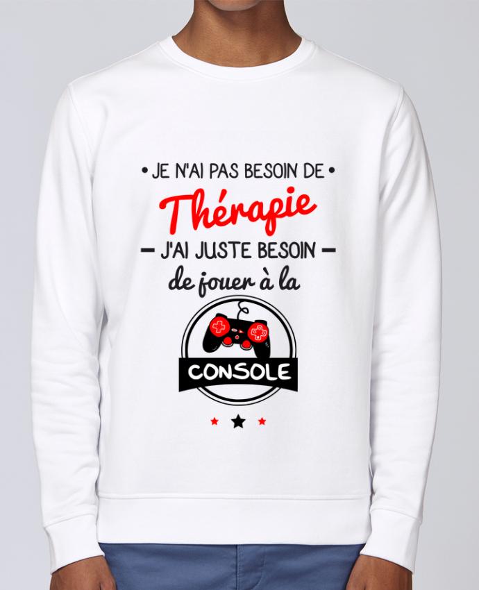 Sweat Col rond Unisex Stanley Stella Rise Tee shirt marrant pour geek,gamer : Je n'ai pas besoin de thérapie, j'ai juste besoin d