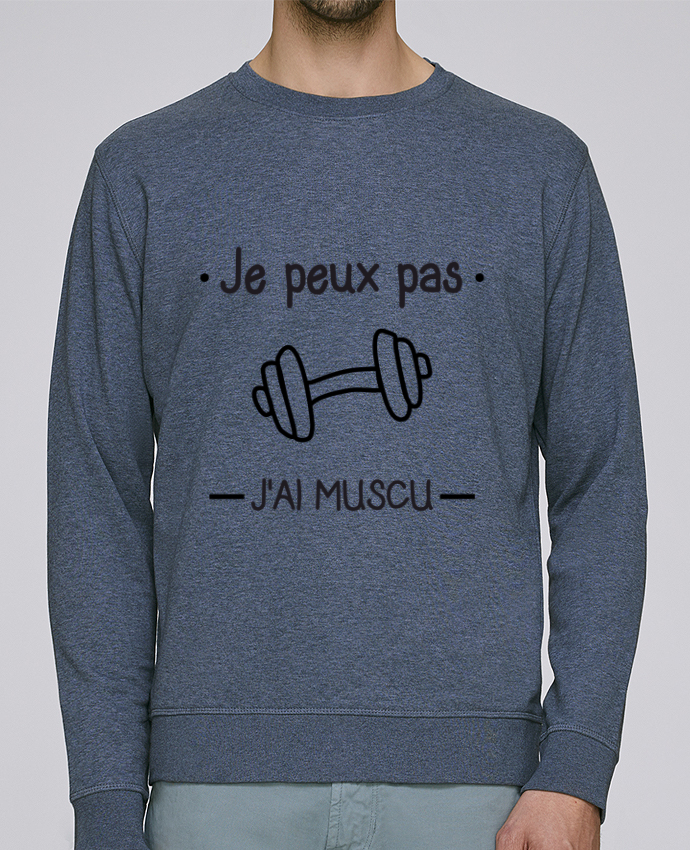 check out 5a4bc 70364 5412214-sweat-col-rond-unisex-stanley-stella-rise-dark-heather-blue-je-peux-pas-j-ai-muscu-musculation-by-benichan.png