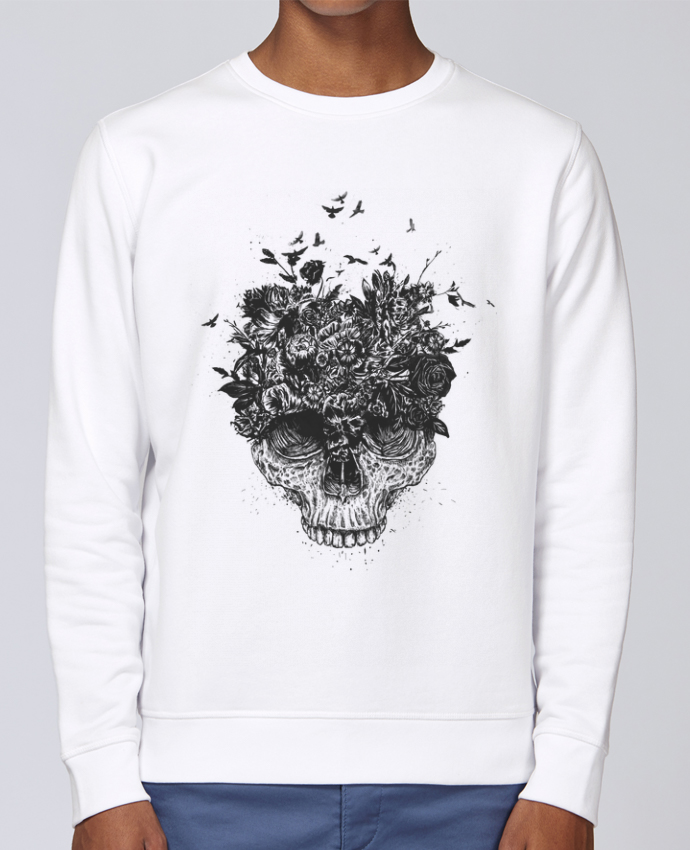 Sweat Col rond Unisex Stanley Stella Rise My head is a jungle par Balàzs Solti