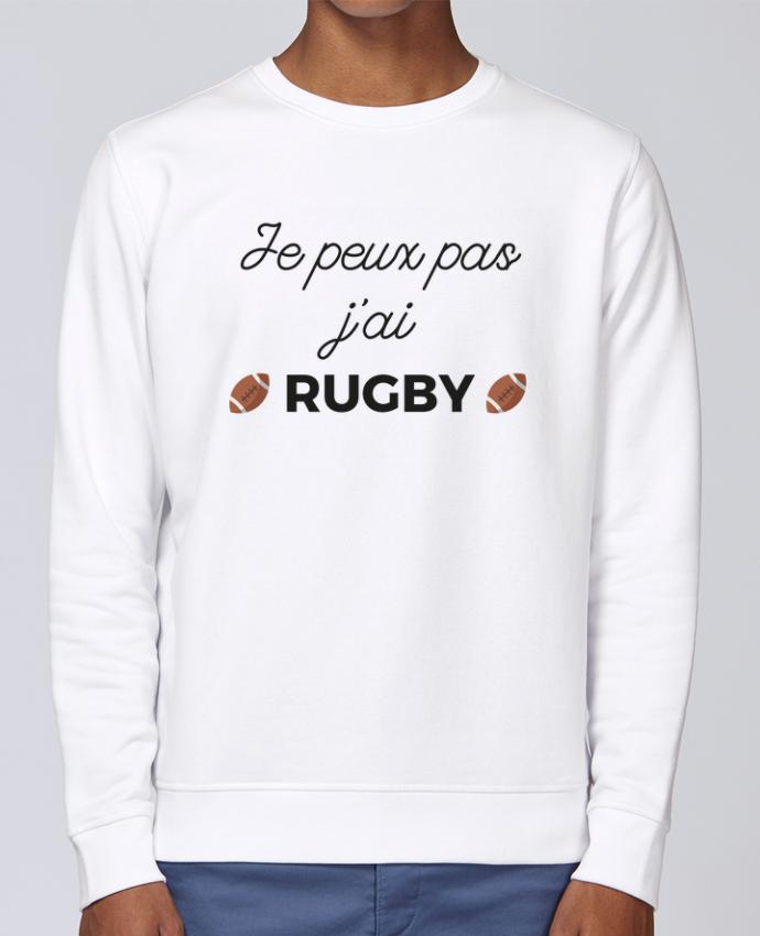 Sweat Col rond Unisex Stanley Stella Rise Je peux pas j'ai Rugby par Ruuud