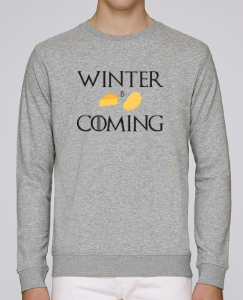 Sweat Col rond Homme Stanley Stella Rise Winter is coming par Ruuud
