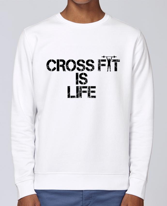 Sweat Col rond Unisex Stanley Stella Rise Crossfit is life par tunetoo