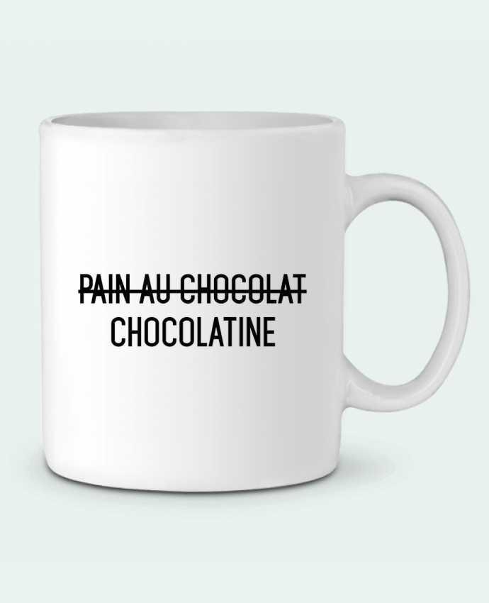 Mug en Céramique Chocolatine par tunetoo