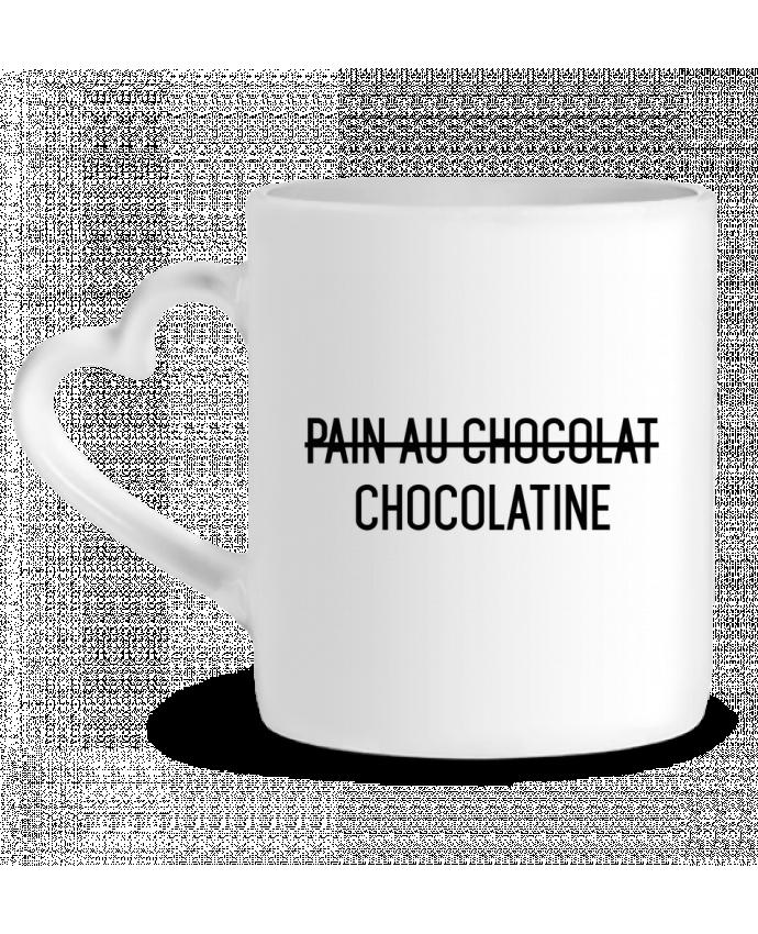 Mug Coeur Chocolatine par tunetoo