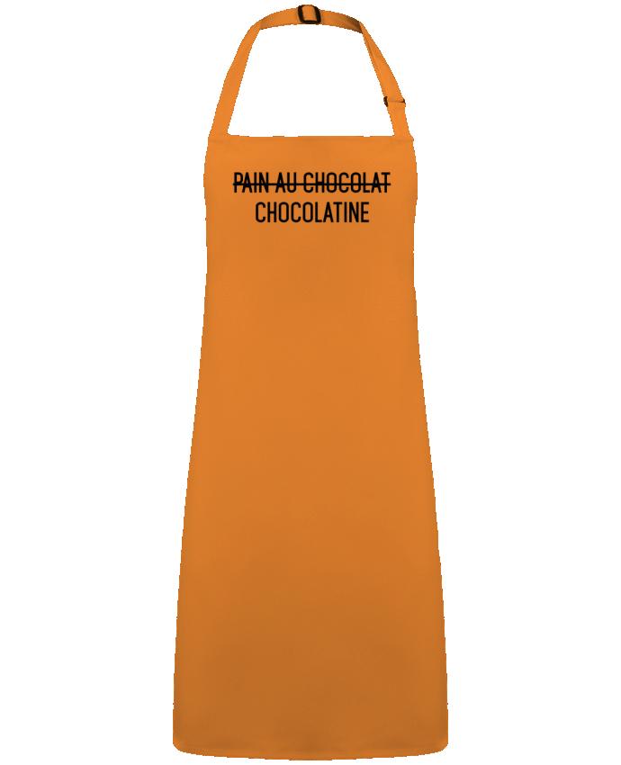 Tablier Sans Poche Chocolatine par  tunetoo