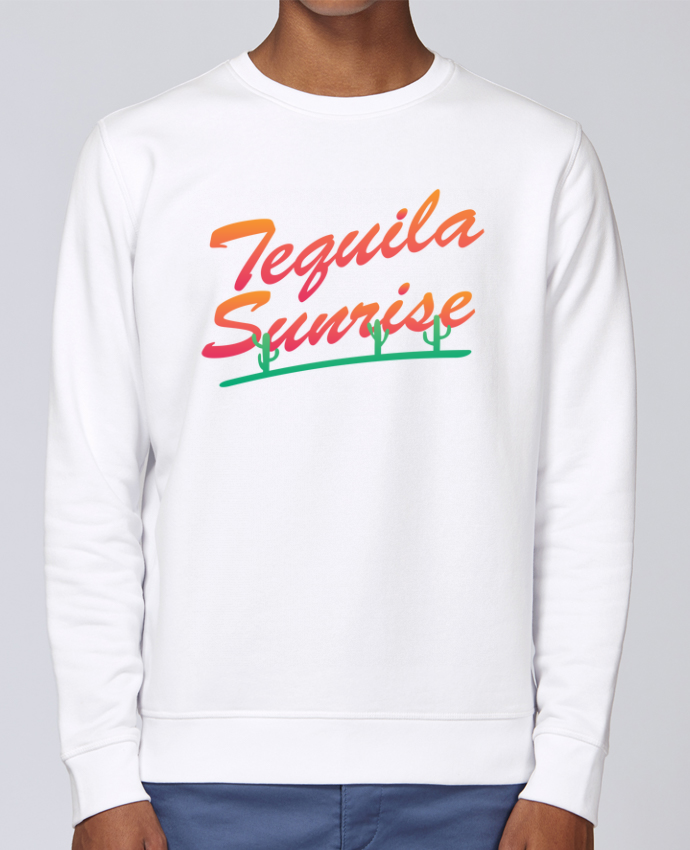 Sweat Col rond Unisex Stanley Stella Rise Tequila Sunrise par tunetoo