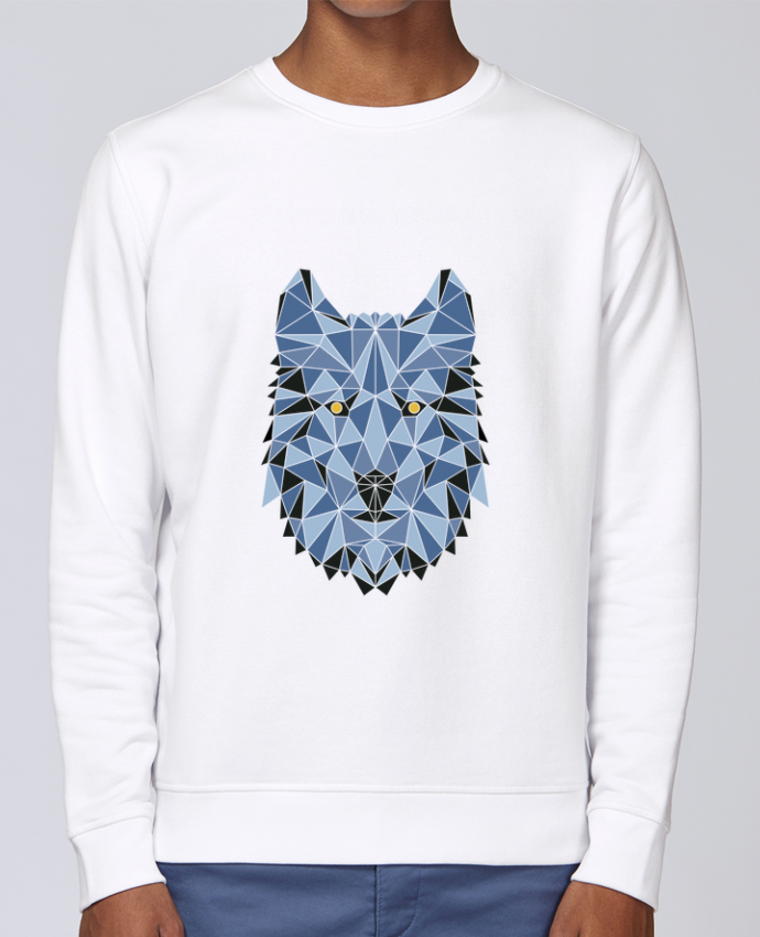 Sweat Col rond Unisex Stanley Stella Rise wolf - geometry 3 par /wait-design