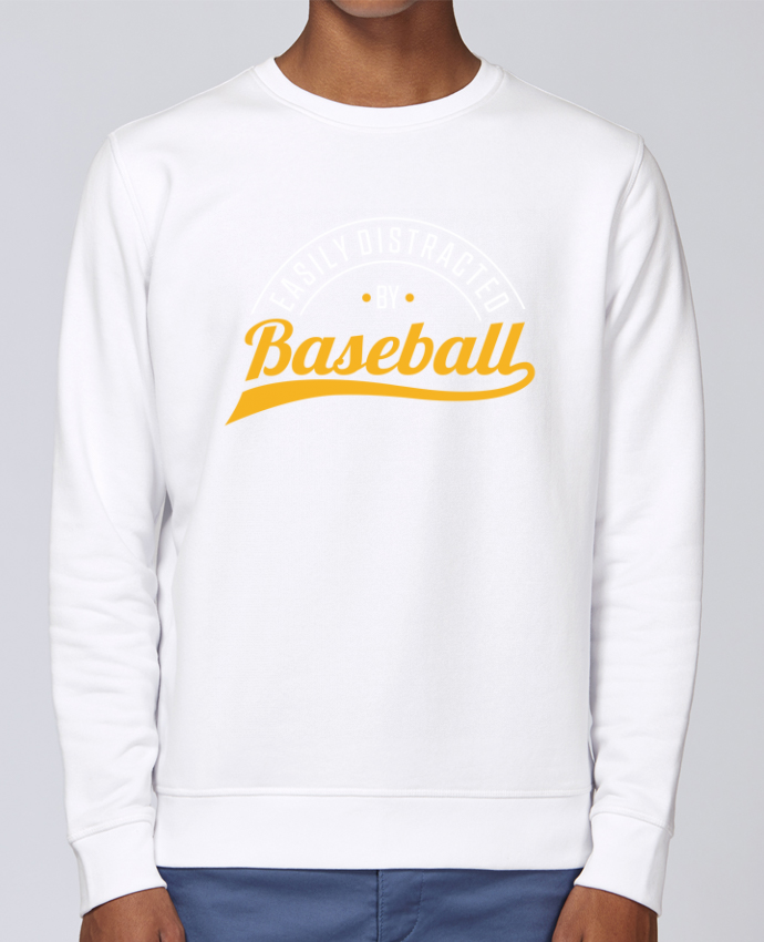 Sweat Col rond Unisex Stanley Stella Rise Distracted by Baseball par Original t-shirt