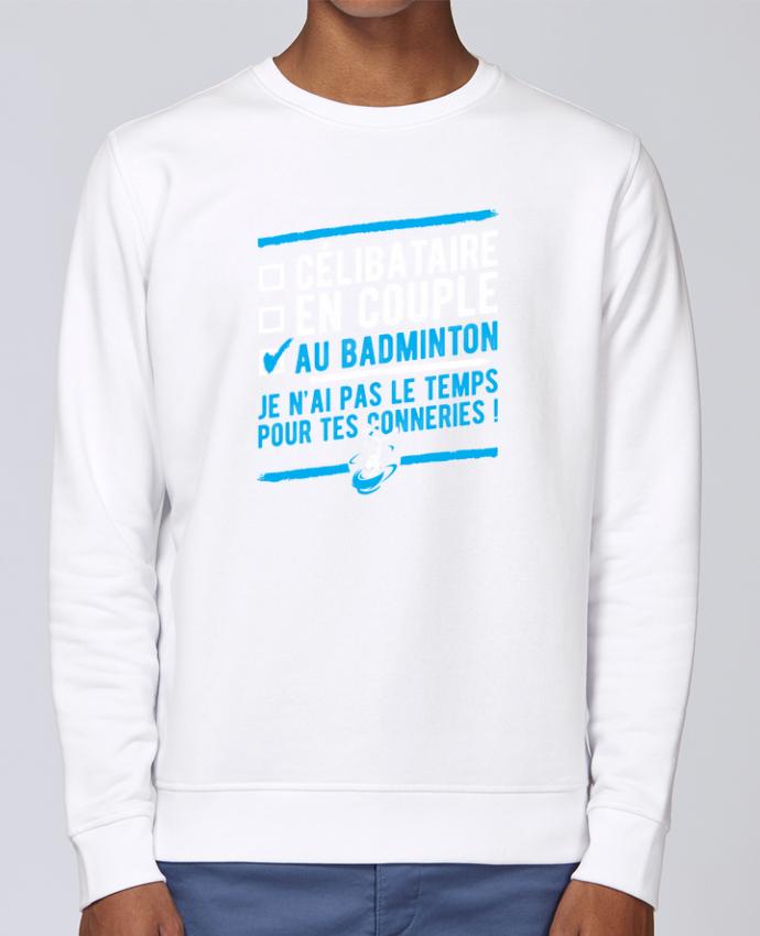Sweat Col rond Unisex Stanley Stella Rise Accro badminton par Original t-shirt