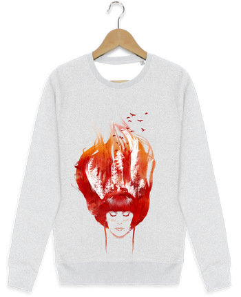 Sweat-shirt Stanley stella modèle seeks Burning forest par robertfarkas