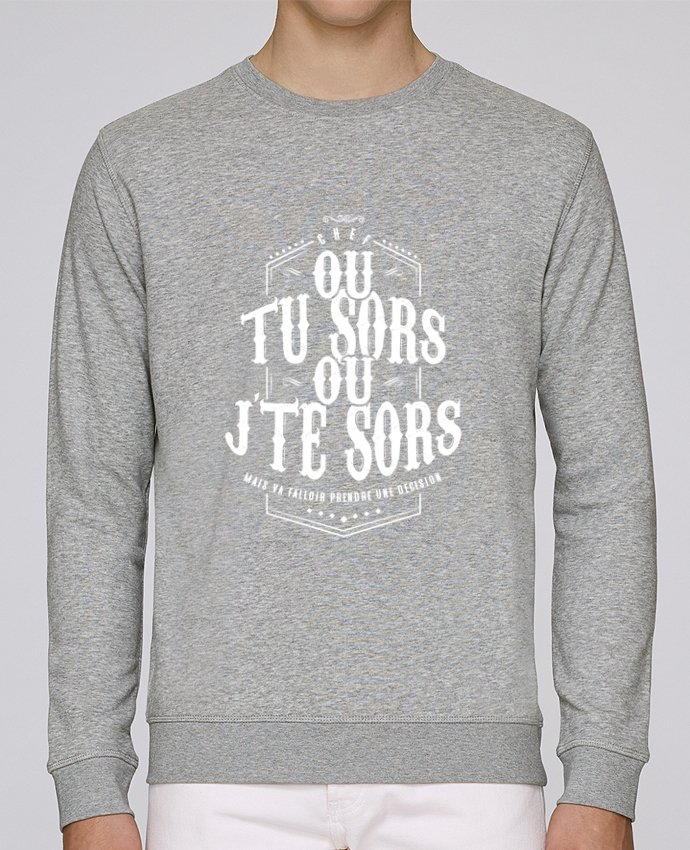 4a68c25aa T-shirt Col V Homme Stanley Relaxes Ou tu sors ou jte sors Col V ...
