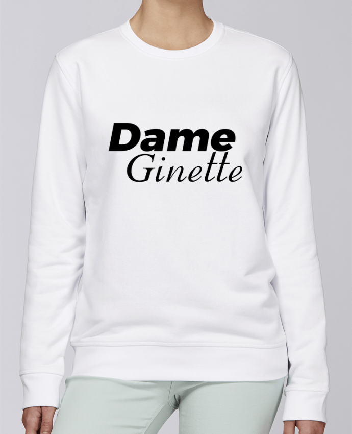 Sweat Col rond Unisexe Stanley Stella Rise Dame Ginette par tunetoo