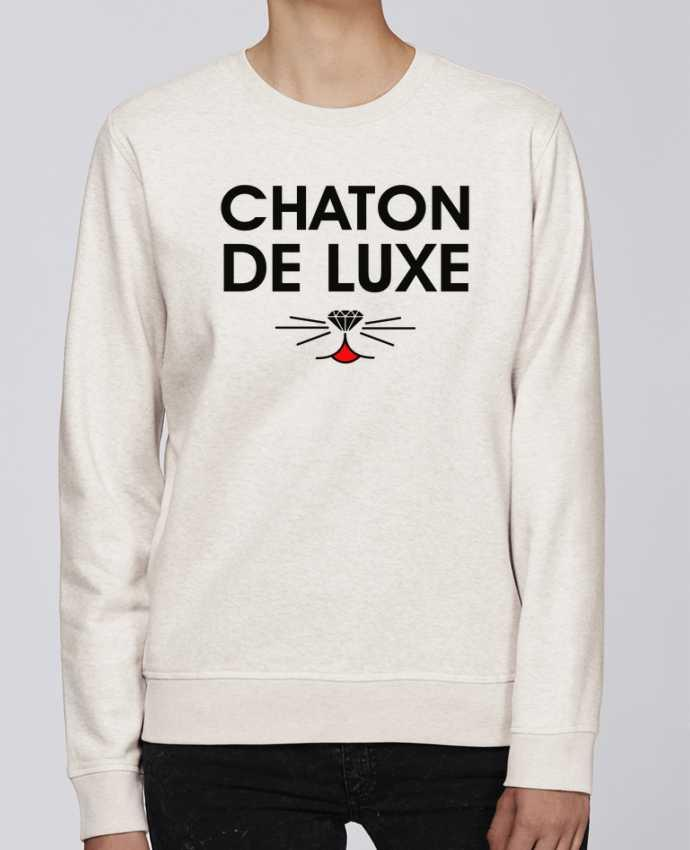 Sweat Col rond Unisexe Stanley Stella Rise Chaton de luxe par tunetoo