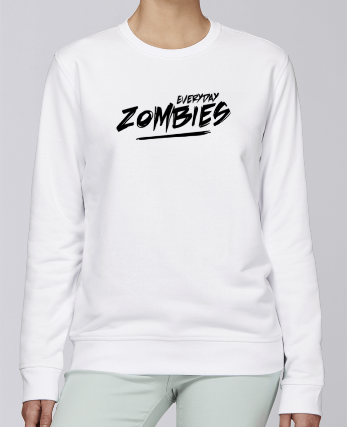 Sweat Col rond Unisexe Stanley Stella Rise Everyday Zombies par tunetoo