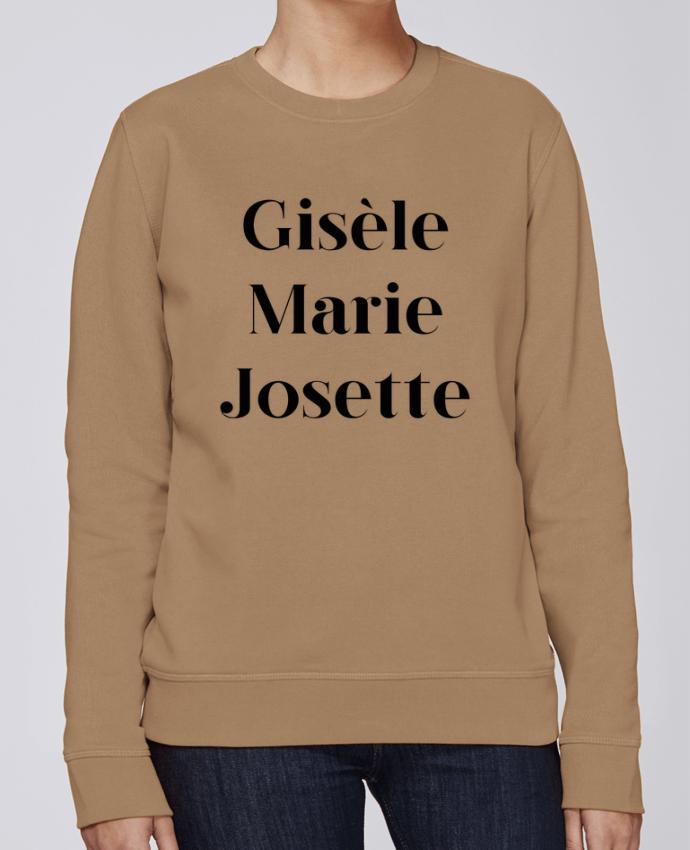 Sweat Col rond Unisexe Stanley Stella Rise Gisèle Marie Josette par tunetoo