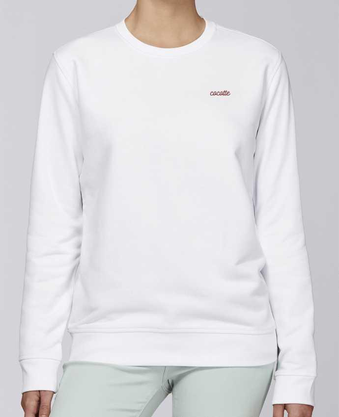 Sweat Col rond Unisexe Stanley Stella Rise Cocotte par tunetoo
