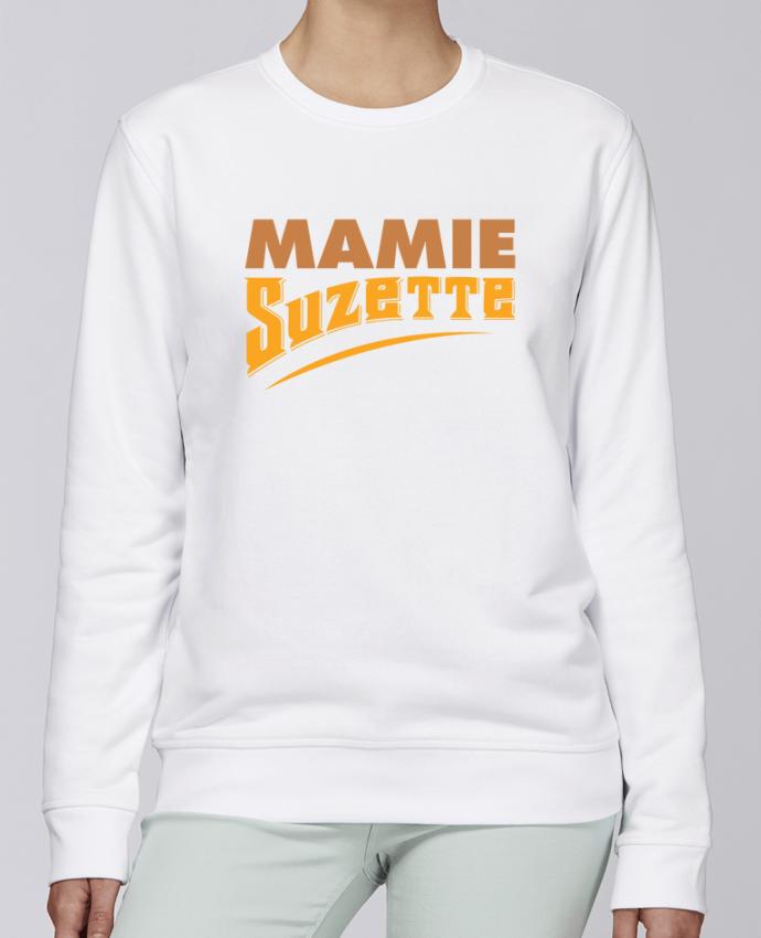 Sweat Col rond Unisexe Stanley Stella Rise MAMIE Suzette par tunetoo
