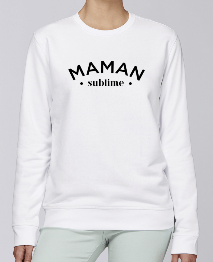 Sweat Col rond Unisexe Stanley Stella Rise Maman sublime par tunetoo
