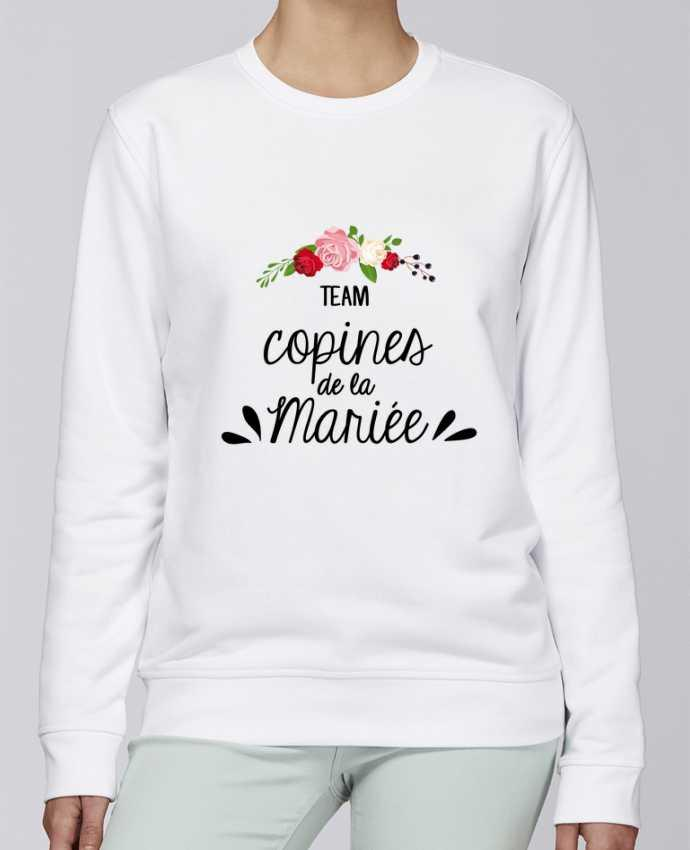 Sweat Col rond Unisexe Stanley Stella Rise TEAM COPINES DE LA MARIEE par FRENCHUP-MAYO