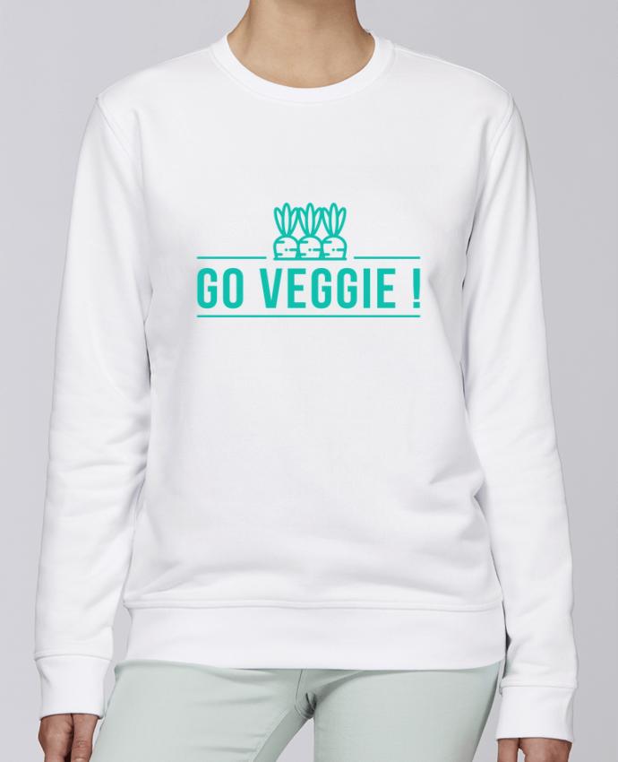 Sweat Col rond Unisexe Stanley Stella Rise Go veggie ! par Folie douce