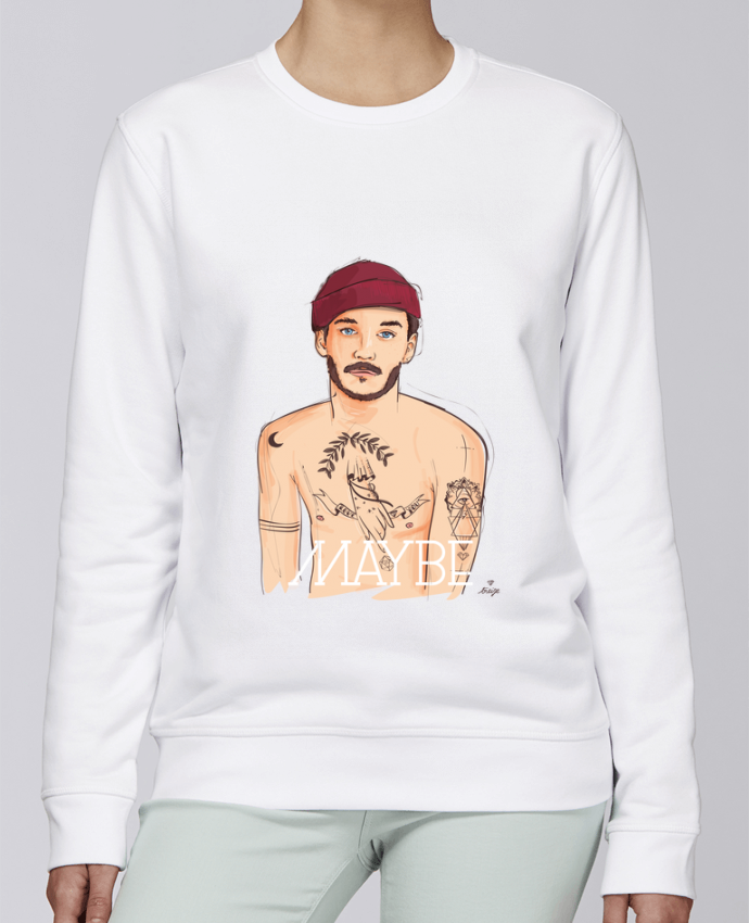 Sweat Col rond Unisexe Stanley Stella Rise Maybe par 13octobre