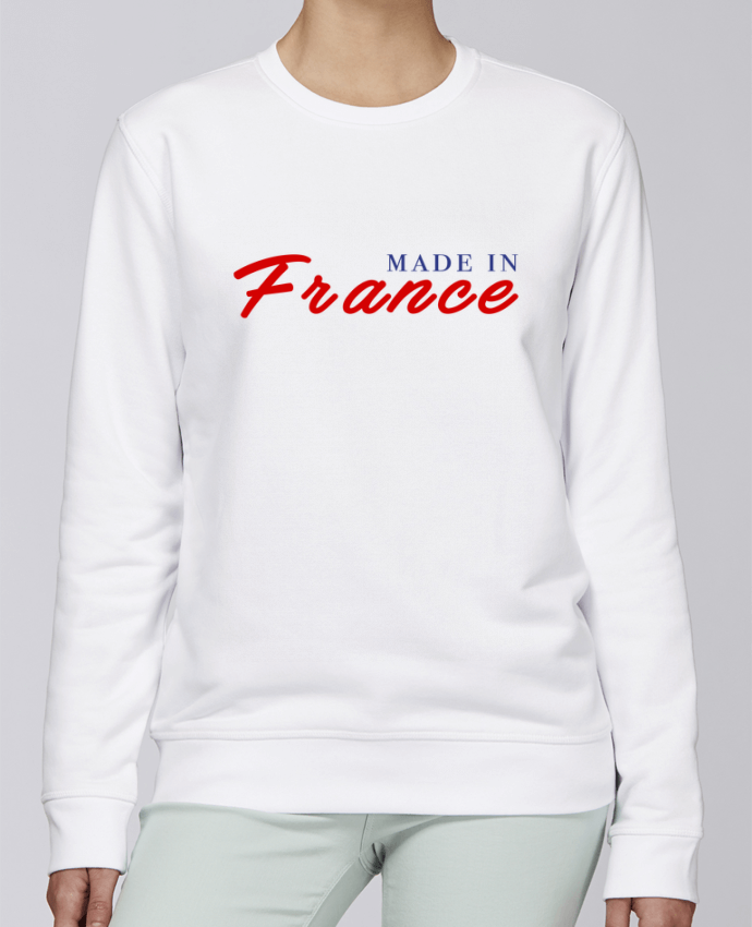 Sweat Col rond Unisexe Stanley Stella Rise MADE IN FRANCE par Graffink