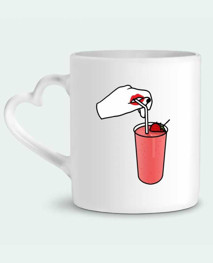 Mug Coeur Milk shake par tattooanshort