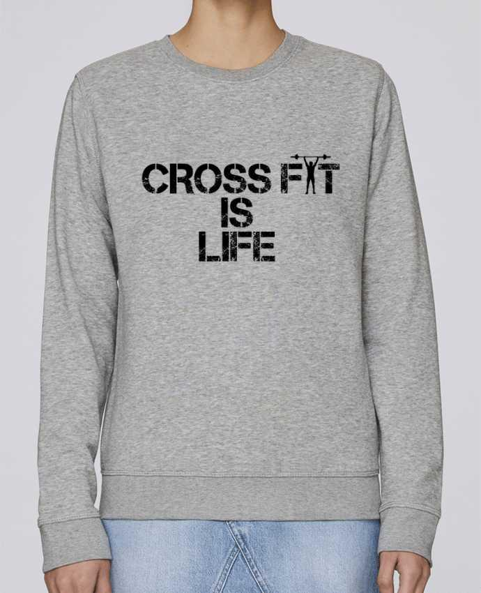 Sweat Col rond Unisexe Stanley Stella Rise Crossfit is life par tunetoo