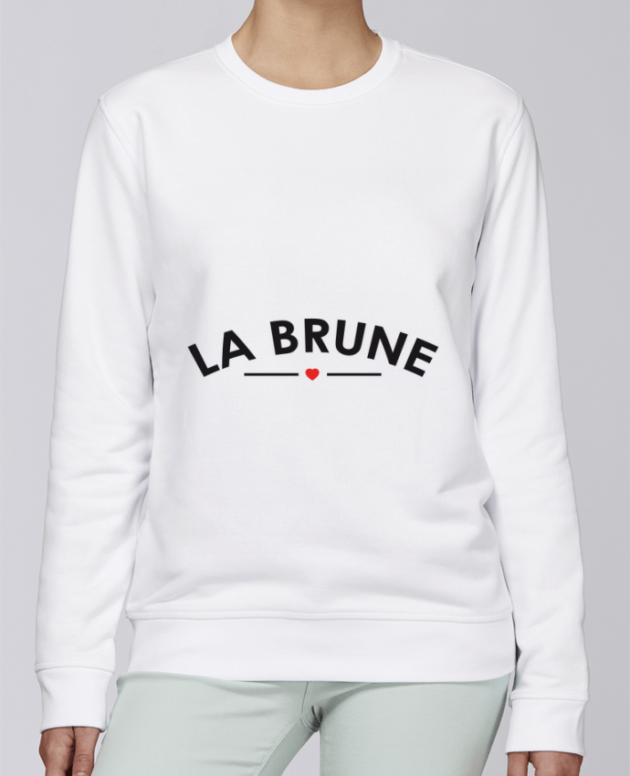 Sweat Col rond Unisexe Stanley Stella Rise La Brune par FRENCHUP-MAYO
