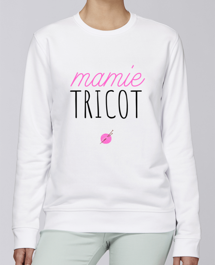 Sweat Col rond Unisexe Stanley Stella Rise Mamie tricot - tunetoo