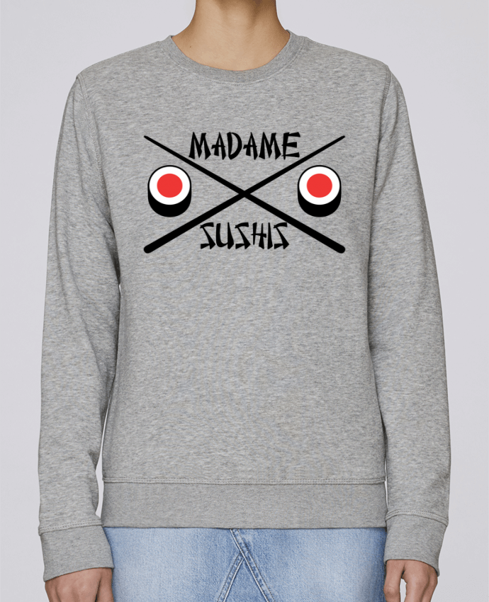 Sweat Col rond Unisexe Stanley Stella Rise Madame Sushis par tunetoo