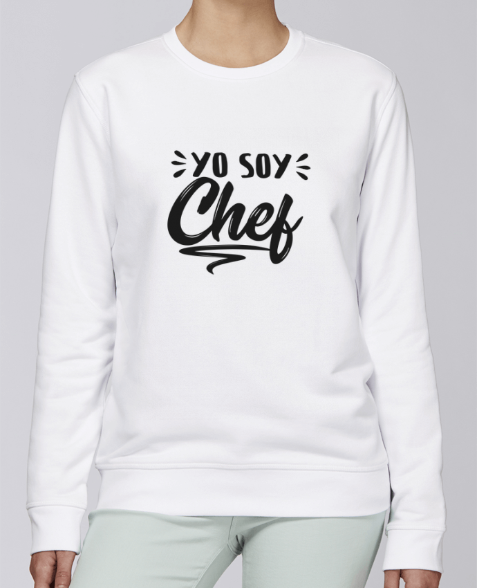 Sweat Col rond Unisexe Stanley Stella Rise soy chef par tunetoo