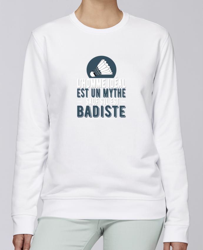 Sweat Col rond Unisexe Stanley Stella Rise Homme Badiste Badminton par Original t-shirt