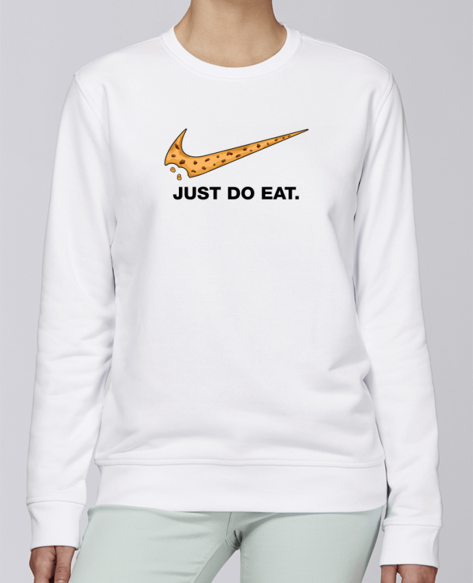 Sweat Col rond Unisexe Stanley Stella Rise Just do eat par tunetoo