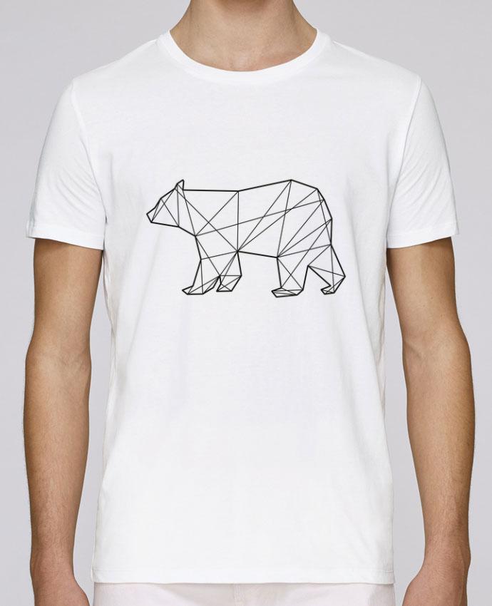 T-Shirt Col Rond Stanley Leads Polygonal Bear par AB