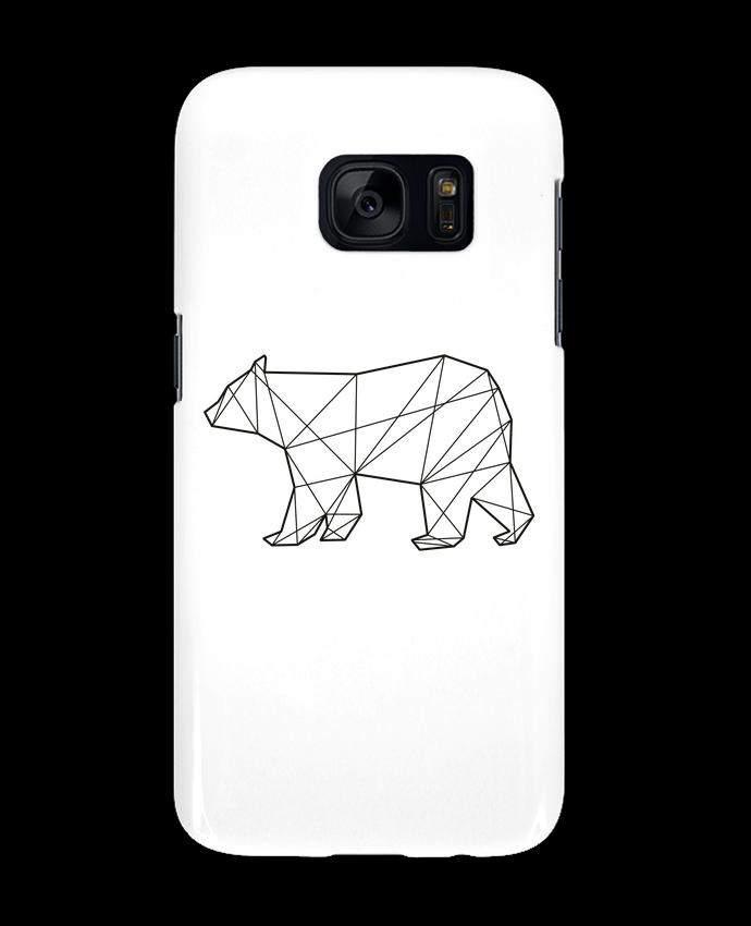 Coque 3D Samsung Galaxy S7 Polygonal Bear par AB