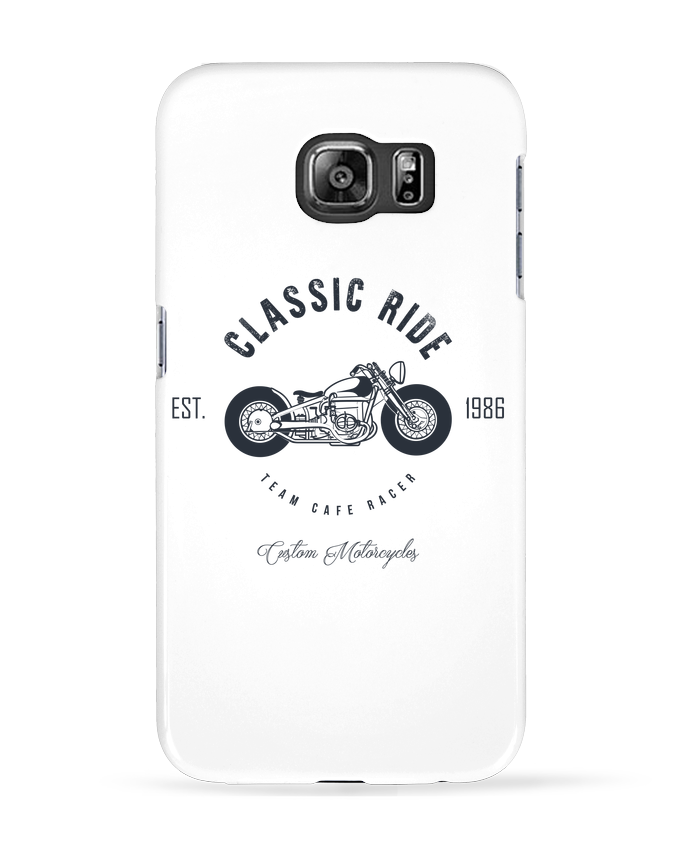 Coque 3D Samsung Galaxy S6 Classic Ride Motorcycles - AB