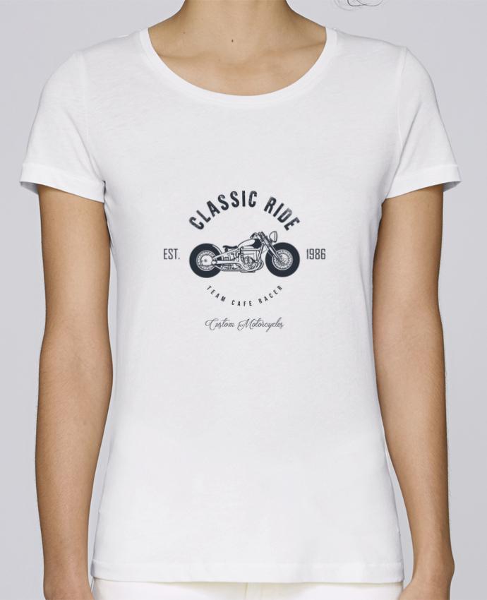 T-shirt Femme Stella Loves Classic Ride Motorcycles par AB