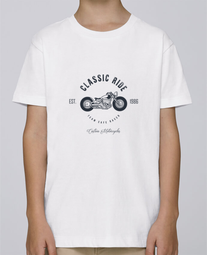 Tee Shirt Garçon Stanley Mini Paint Classic Ride Motorcycles par AB