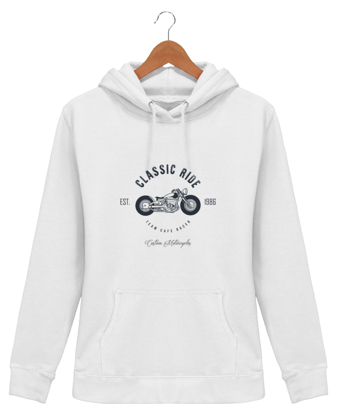Sweat à Capuche Femme Classic Ride Motorcycles - AB